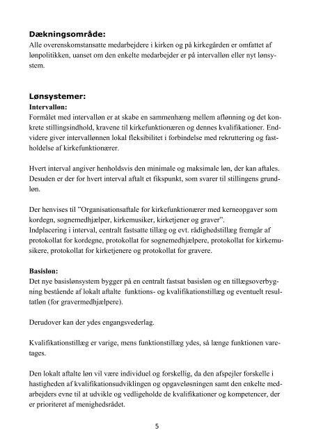 Lønpolitik - Haderslev Stift