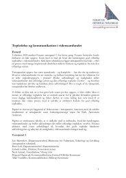 Topledelse og kommunikation i vidensamfundet - Forum for Offentlig ...