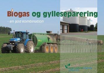biogas og gylleseparering - en god kombination - Djurs Bioenergi