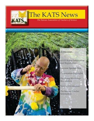 2011 KATS Kamp newsletter