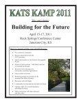 2011 KATS Kamp newsletter - Page 3
