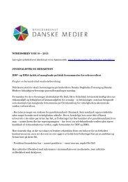 Nyhedsbrevet Danske Medier uge