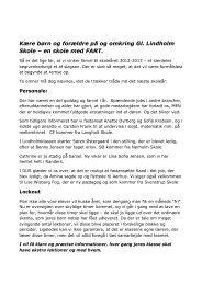 Sommerhilsen til alle.pdf - Gl. Lindholm Skole