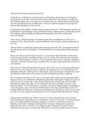 Læs formandens beretning fra generalforsamlingen 2013...