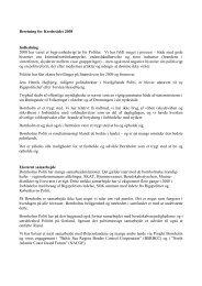 Link til Beretning for Kredsrådet 2008 - Politi