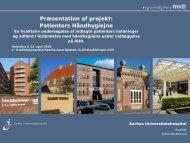 Patienters Håndhygiejne - Region Midtjylland