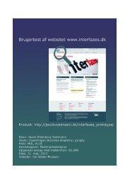 Eksamensrapport (PDF)