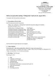 Referat generalforsamling 2012 - Villingebæk Vandværk