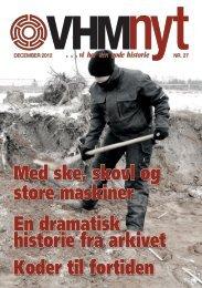 VHM Nyt, nr. 27 - Vendsyssel Historiske Museum & Historisk Arkiv