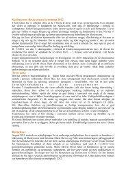 Bestyrelsens beretning 2012 - Skolen.com