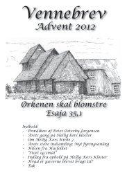 Sidste vennebrev - november 2012 - Hellig Kors kloster