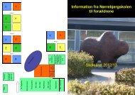 Information fra Nørrebjergskolen til forældrene Skoleåret 2012/13