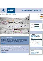 Nytårsreception 2012 - Deutsch-Dänische Handelskammer