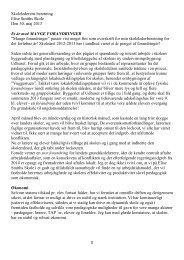Skolelederens beretning Elise Smiths Skole Den 30. maj 2013 Et år ...