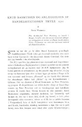knud rasmussen og anlæggelsen af handelsstationen thule 1910