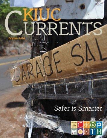 Safer is Smarter - Kauai Island Utility Cooperative