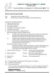 Referat 2008 som pdf-fil - Klubben for Brugere og Hjælpere i ...