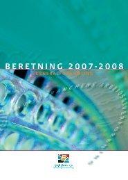 Årsberetning 2007 - 2008 (pdf) - SBA - DI