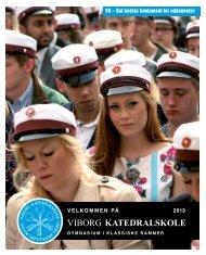 Klik her for se folderen - Viborg Katedralskole