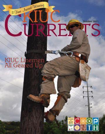 KIUC Linemen All Geared Up - Kauai Island Utility Cooperative