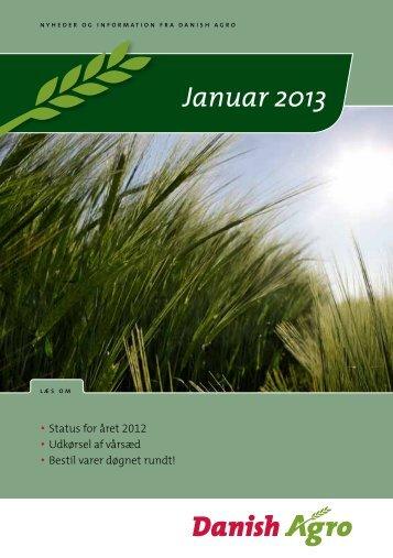 Januar 2013 - Danish Agro