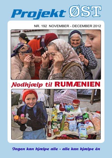 Nr. 192 - november - december 2012 - Projekt Øst
