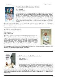 Skolepakke+ Uge 01-03, Beskrivelser - Biblioteksmedier as
