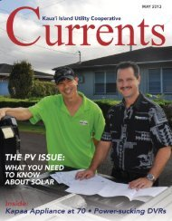 May - Kauai Island Utility Cooperative