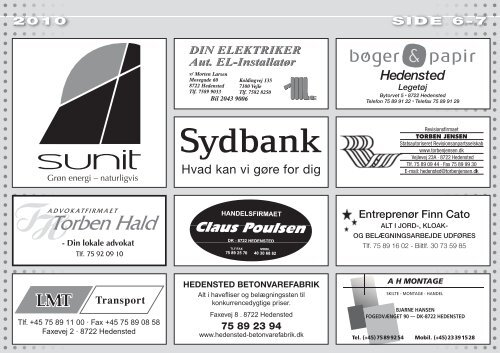 Majfest 2010 ipaper:Layout 1 - Hedensted IF
