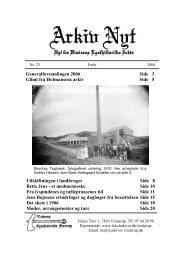 23 2006-1 (PDF) - Vinderup Egnshistoriske Forening