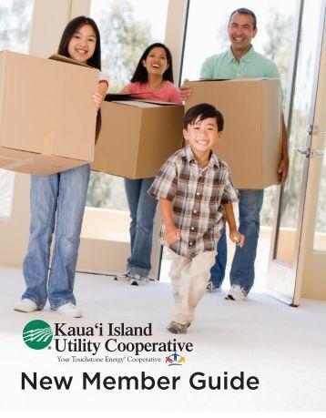 New Member Guide - Kauai Island Utility Cooperative