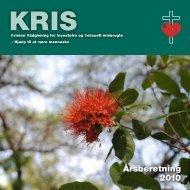 Årsberetning 2010 - KRIS