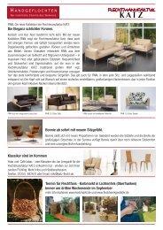 Newsletter - Finn - Katz-Flechtmöbel-Manufaktur