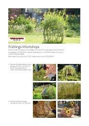Einladung Frühlingsworkshop