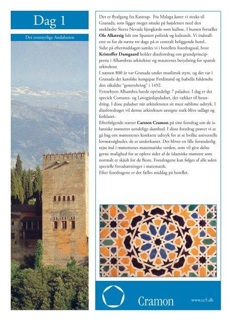 Det eventyrlige Andalusien - Cramon Kulturrejser