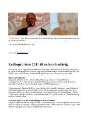 Lydbogspris DR Paul Becker Den hundredårige ... - Jonas Jonasson