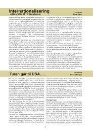 Internationalisering S.4 b. Michael Madsen: Turen går til USA. S. 4