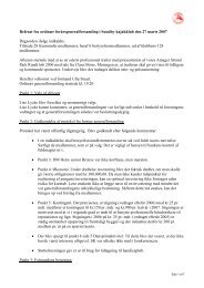 Referat forårsgeneralforsamling 2007 - Sundby Kajakklub