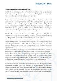 Systemisk proces med Firkløverskolen - MacMann Berg