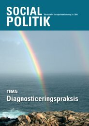 Nr. 4: Diagnostiseringspraksis - Socialpolitisk Forening