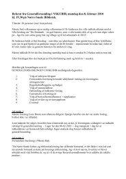 Referat fra Generalforsamling i NSKUBIB, mandag den 8