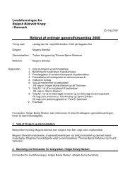 Referat af ordinær generalforsamling 2008