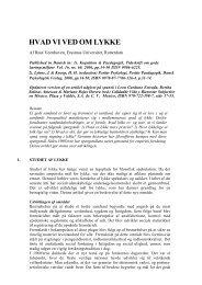 Full text in Danish - Erasmus Universiteit Rotterdam