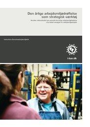 Den årlige arbejdsmiljødrøftelse som strategisk værktøj