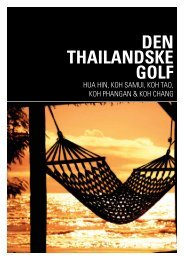 Den thailandske golf katalog - Jesper Hannibal