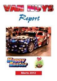 Van Nuys Report Marts 2012 - Van Nuys Car Club Denmark