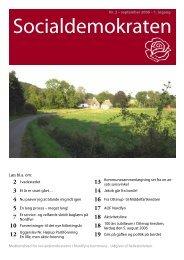 Nr. 2 - september 2006 - Socialdemokraterne på Nordfyn