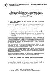 kontoret for harmonisering i det indre marked (khim) - Europa
