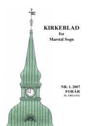 Kirkebladet nr. 1-2007 Forår - Alt er vand ved siden af Ærø