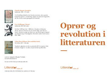 oproer_folder a5.pdf - Litteratursiden